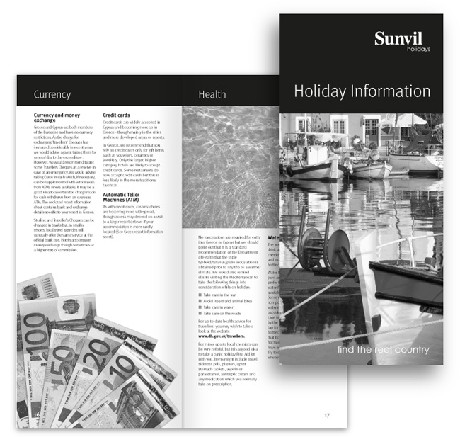Sunvil-Holidays-info-booklet