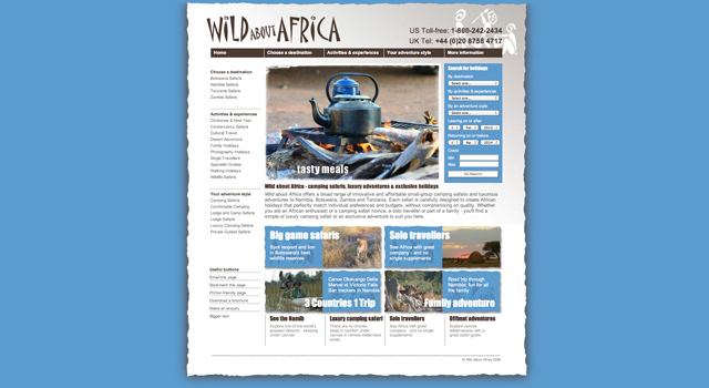 Wild about Africa