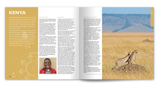 Expert Africa 2014 Brochure